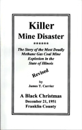 Killer Mine Disaster book front cover