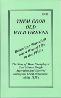 Them Good Old Wild Greens book front cover