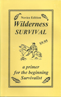 Wilderness Survival book front cover