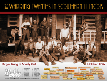 The Warring Twenties of Southern Illinois (poster)